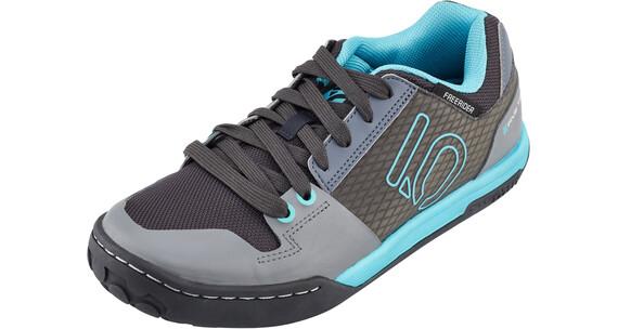 Five Ten Freerider Contact Shoes Women Shock Green/Onix